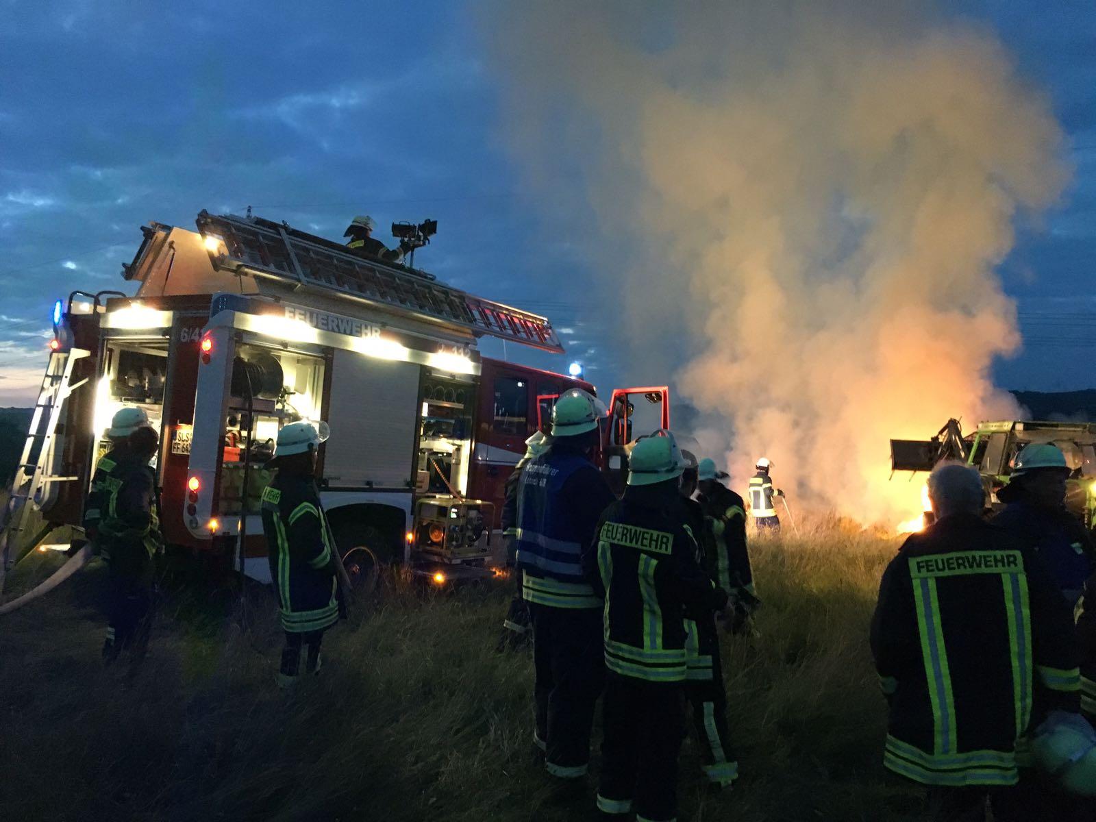 Brand 2 vom 15.06.2018  |  Feuerwehr Gresaubach (2018)